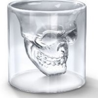 Crystal Skull Shotglass,crystal Skull Pirate Shot Glass Drink Cocktail Beer Cup:Amazon:Kitchen & Dining