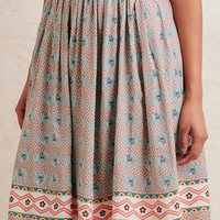 Journey To Thailand Printed Skirt
