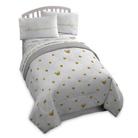 Minnie Mouse Gold Dot Comforter - Twin/Full