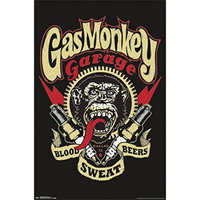 Gas Monkey Garage - Graphic 22x34 Standard Wall Art Poster
