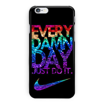 Every Damn Day Just Do It Red Nike iPhone 6 Plus Case