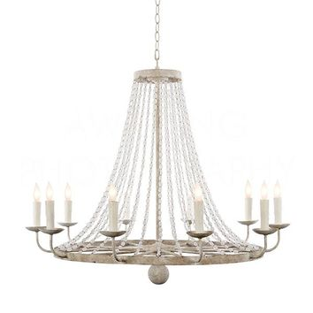 Buy Medium Naples Chandelier In White design by Aidan Gray Online at Burkedecor – BURKE DECOR