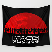 Mass Effect Wall Tapestry by TxzDesign
