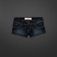 A&F Low Rise Short Shorts