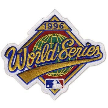 1996 World Series MLB Baseball Official Jersey Sleeve Patch - Yankees over Braves