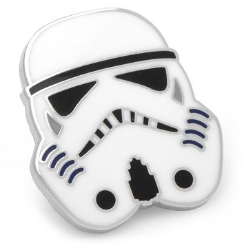 Star Wars Storm Trooper Lapel Pin (White)
