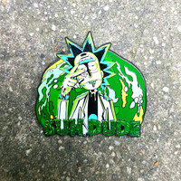 "Rick ""Suh Dude"" Hard Enamel Rick and Morty Pin"