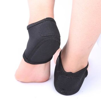 mrwonder 2pcs Foot Heel Ankle Wrap Pads Plantar Fasciitis Therapy Pain Relief Arch Support Socks