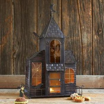 Haunted House Candleholder - Candles & Candle Holders - Decor & Accessories - Tabletop & Serving - Sur La Table