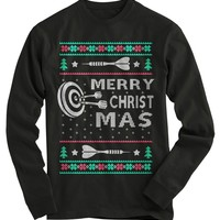 Darts Ugly Christmas Sweater