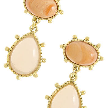 Peach Bellini Earring