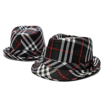 DCCKV3X Burberry Woman Men Fashion Travel Hat Bucket Hat Cap