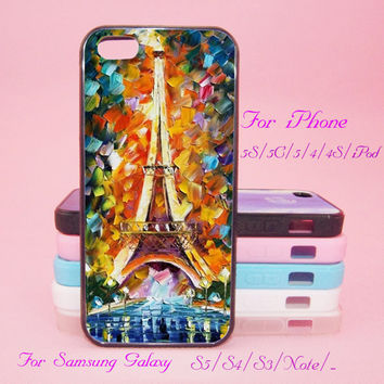 Eiffel Tower,Painting,Touch 5,iPad 2/3/4,iPad mini,iPad Air,iPhone 5s/ 5c / 5 /4S/4 , Galaxy S3/S4/S5/S3 mini/S4 mini/S4 active/Note