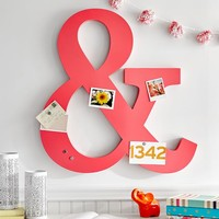 Metal Ampersand And Magnets