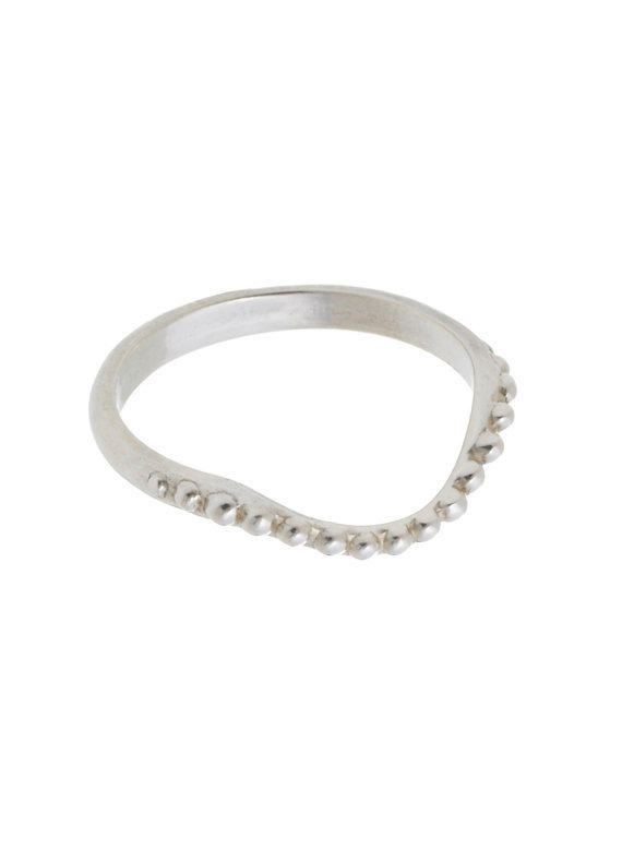 Pearl Necklace Ring Small
