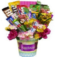 Art of Appreciation Gift Baskets Happy Birthday Candy Bouquet:Amazon:Grocery & Gourmet Food