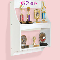Guidecraft Expressions Trophy Rack: White - G87105