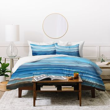 Rosie Brown Here Comes The Rain Duvet Cover