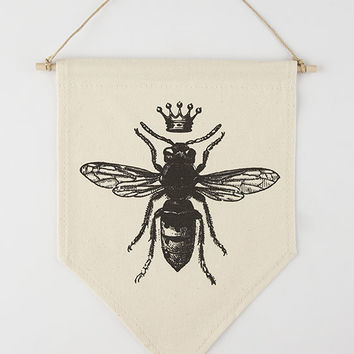 Queen Bee Pennant | Decor