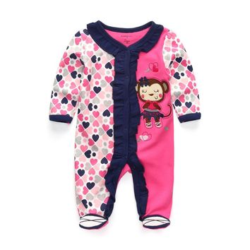 brand baby clothes Roupas bebe boy girl Full Sleeve cotton cartoon lion newborn costume baby clothing ropa fantasia rompers