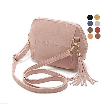 Fringe Crossbody Women Suede  Handbags