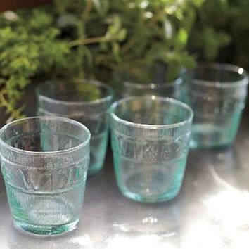 Vino Recycled Glass Tumbler, Set of 6