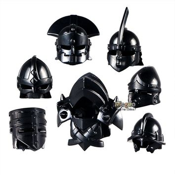 10pcs/lot Armor Suit Shield Medieval Weapon Sparda Gladiatus Knights for Action Figure Building Blocks Kids Toys Gift