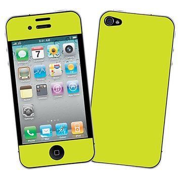 Sour Apple Skin for the iPhone 4/4S by skinzy.com