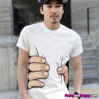 Funny T-shirt hand | Funny page | Funny pictures | Funny images
