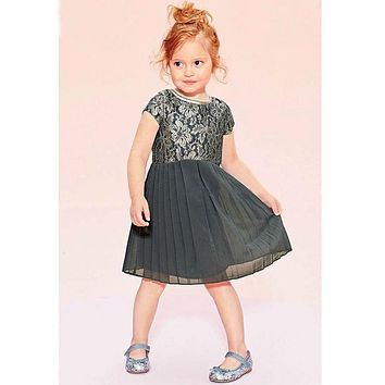 Bow-knot Baby Girl Toddler Lace Clothing Dress girls clothes Princess Dress Children's Dresses kids Clothing