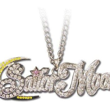 Sailormoon Studded Logo Necklace