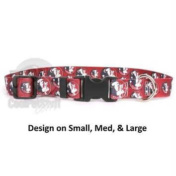 Florida State Seminoles Nylon Collar