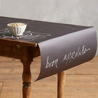 Kitchen Papers by Cake Chalkboard Paper Table Runner