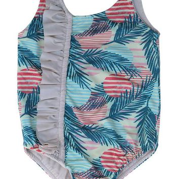 MAYLANA KIDS Tefi Pink Sunset One Piece