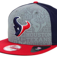 Houston Texans 2014 NFL Draft 9FIFTY Snapback Cap