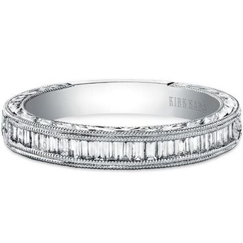 "Kirk Kara ""Carmella"" Baguette Diamond Wedding Band"