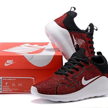 nike unisex sport casual knit fly line olympic couple sneakers running shoes-3