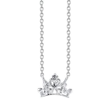 Disney Princess Crown Necklace
