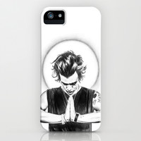 Harry Styles pray for me iPhone & iPod Case by sandraludvigsen