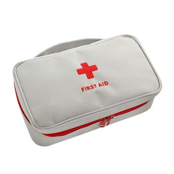 First Aid Bag Roomy Empty Kit Bag Medical Emergency Survival Outdoor Pouch