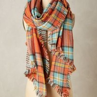 Quartier Plaid Scarf by Anthropologie