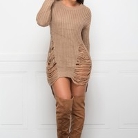 RESTOCKED Feeling Warm Sweater- Mocha