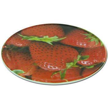 Round Trivet with Strawberry Design: Case of 12