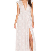 THE JETSET DIARIES Ethereal Whispers Dress in White