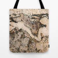 MARBLED Tote Bag by Catspaws