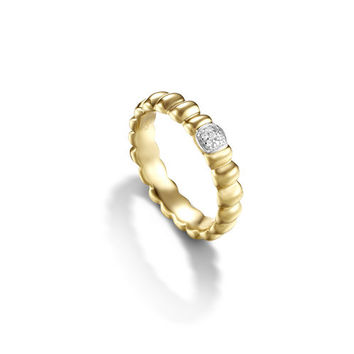 John Hardy bedeg collection slim band ring