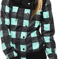Empyre Koni Plaid Tech Fleece Jacket