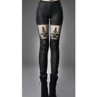 Punk Rave Warm Macbeth Leggings