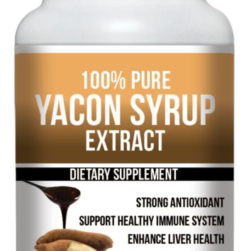ULTRA Pure Yacon Syrup, diet Weight Loss Appetite Suppressant 60 capsules