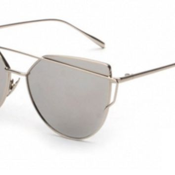 Silver Reflective Sunnies